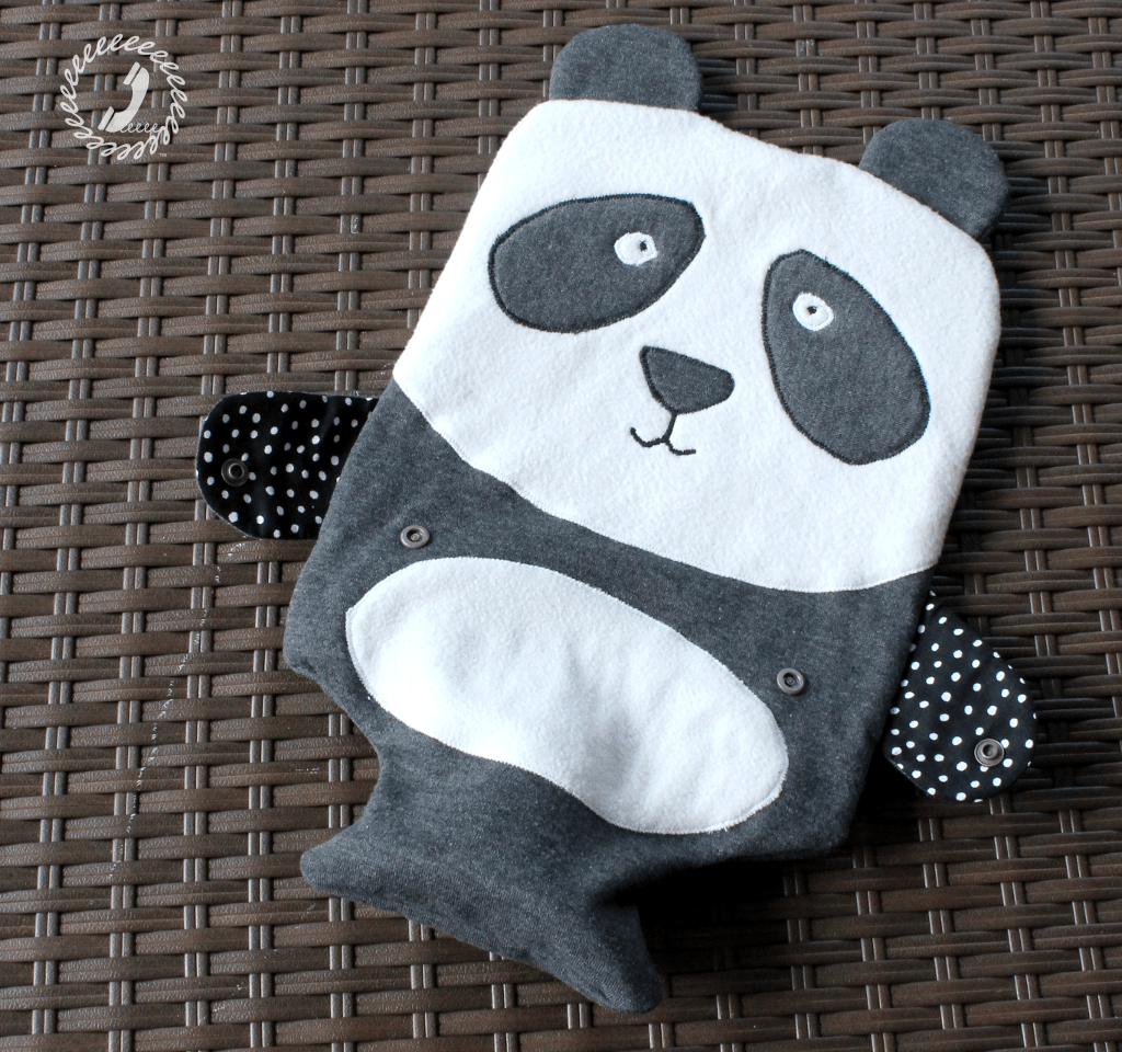 Wild Things Hottie - Panda Hot Water Bottle Cover