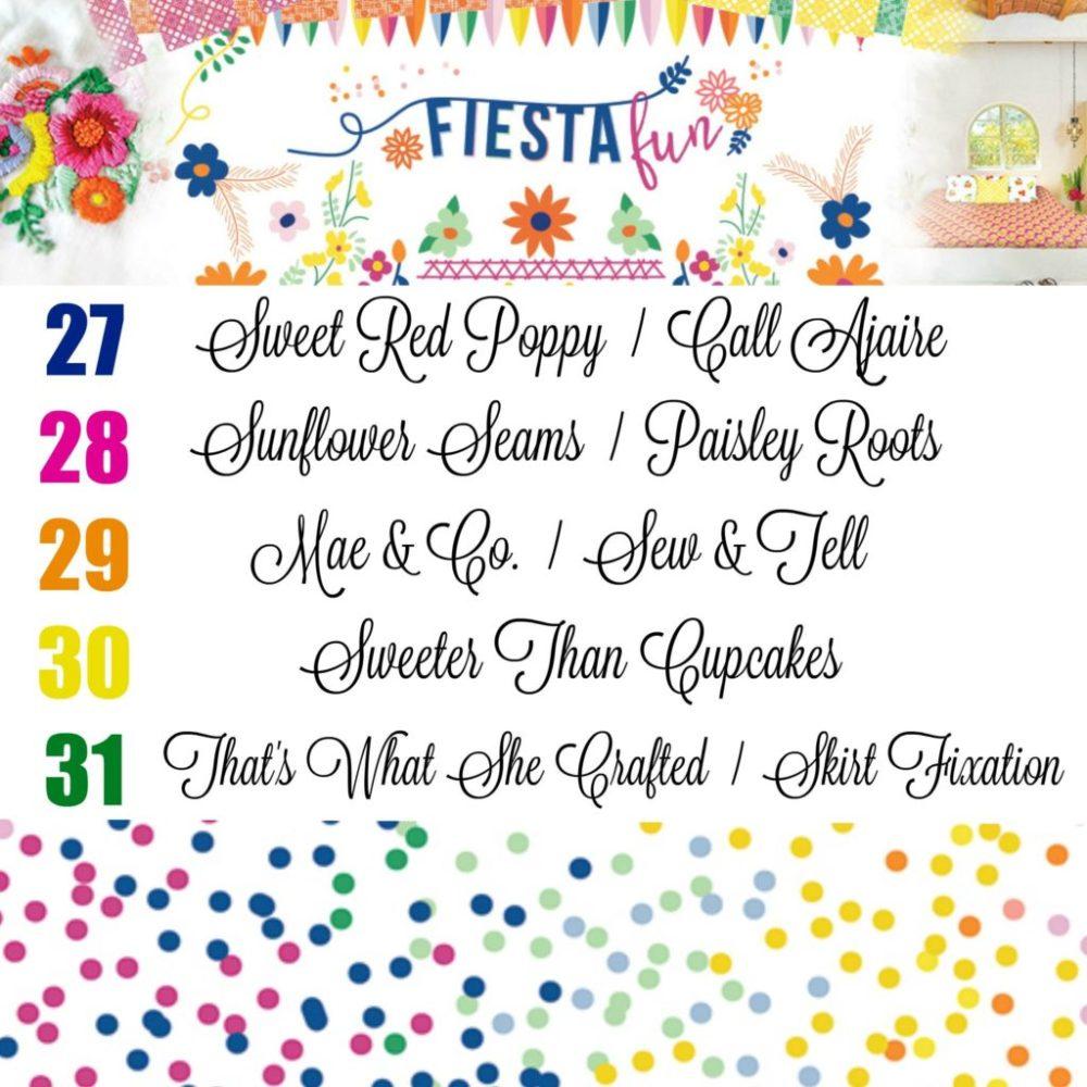 Fiesta Fun - Blog Tour