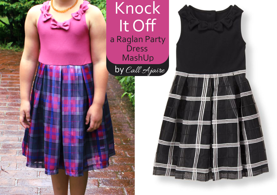 Knock It Off Raglan Party Dress MashUp