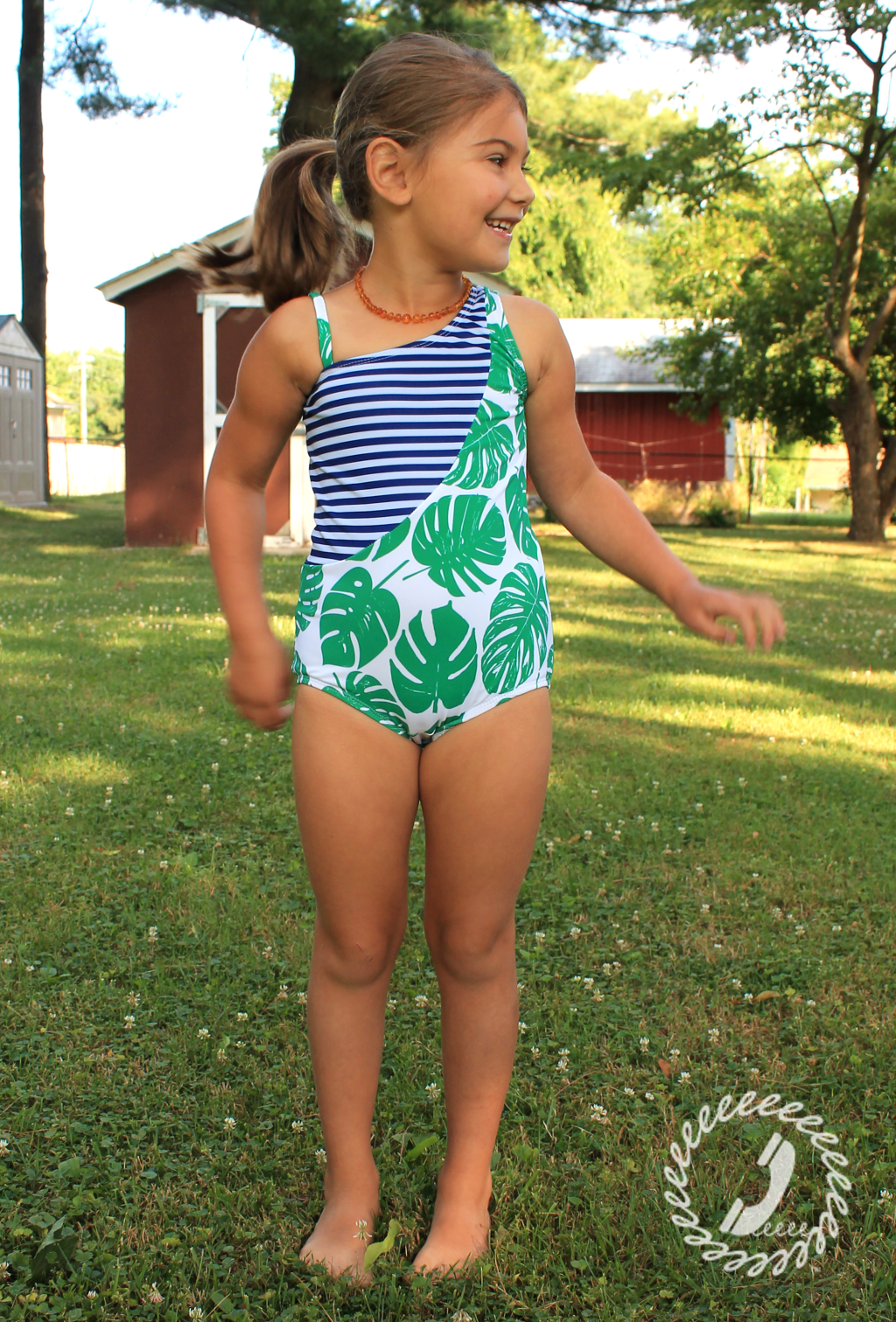 Sash Swimsuit View D pattern Hack