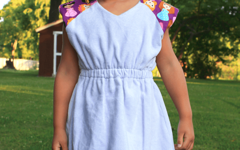 Summer Fun Series – A Raglan CoverUp