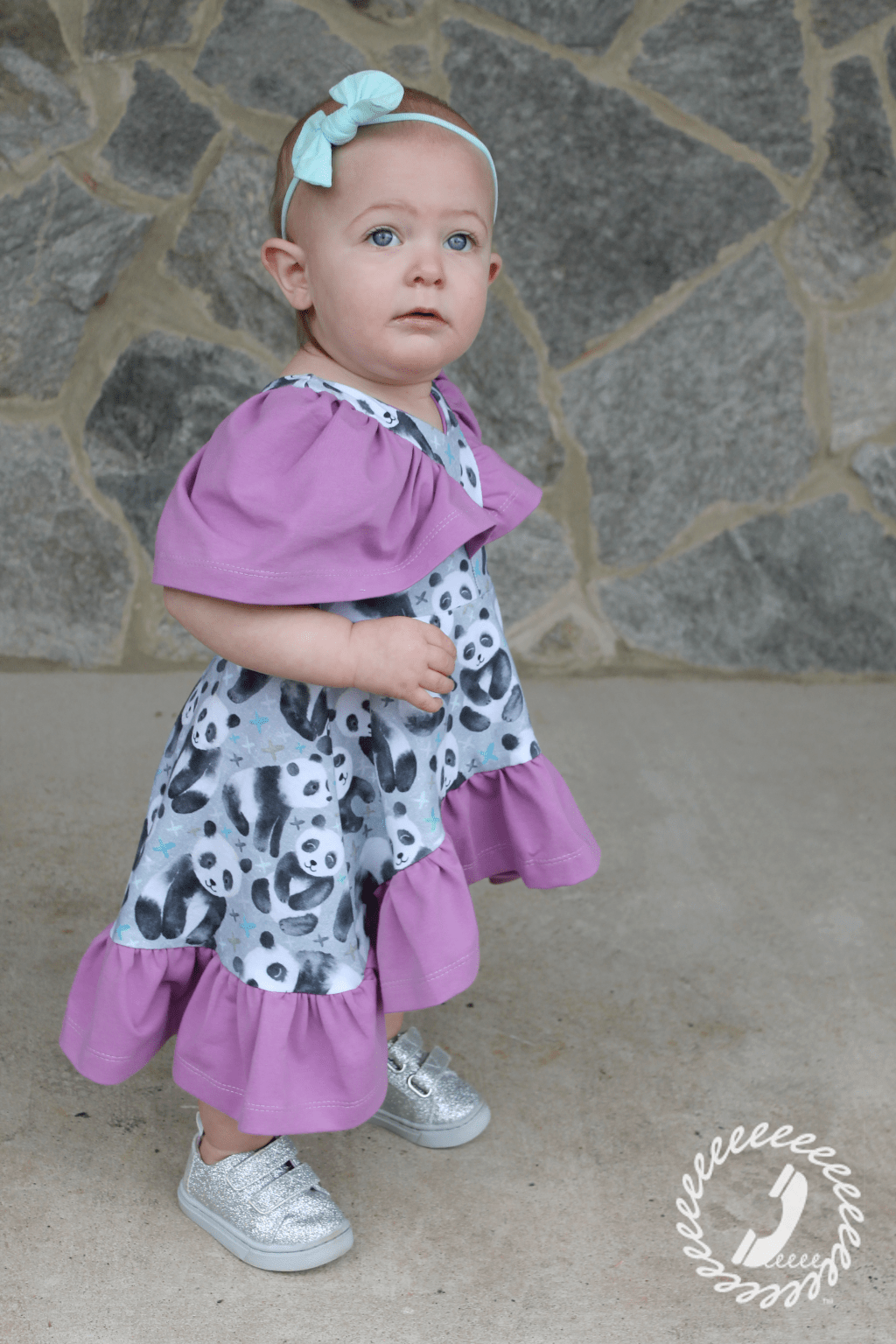Abby's Watercolor Dress