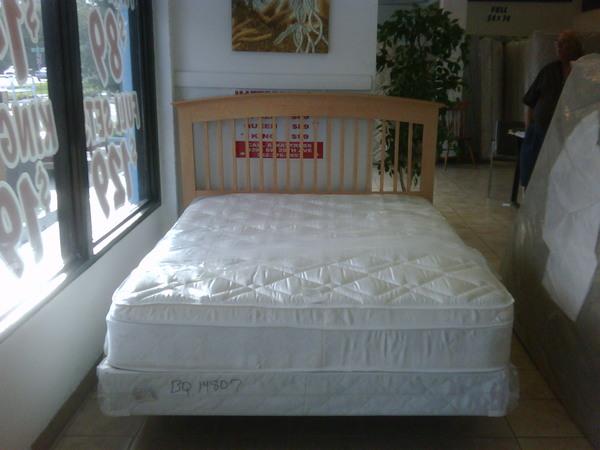 Queen Pillowtop Mattress