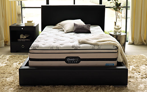 Simmons Beautyrest Black Pillowtop King Mattress Set 1299 Br Blk