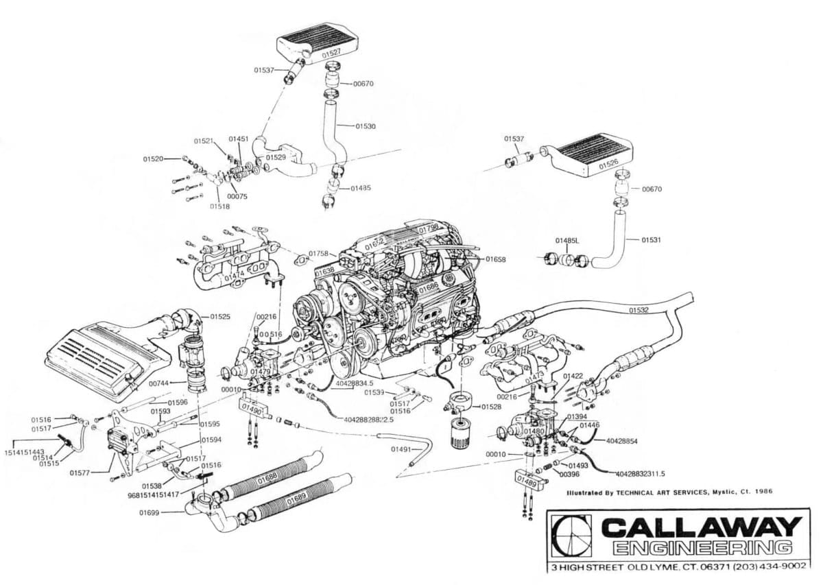 Corvette Exhaust Diagram