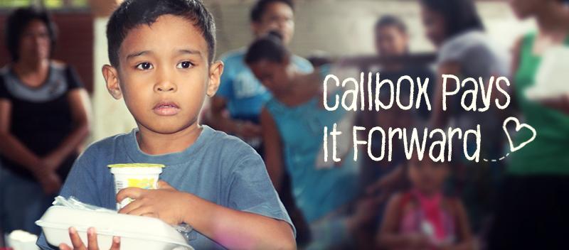 Callbox Pays It Forward