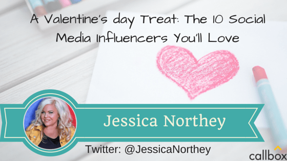 Jessica Northey - A Post Valentine's day Treat: The 10 Social Media Influencers You'll Love