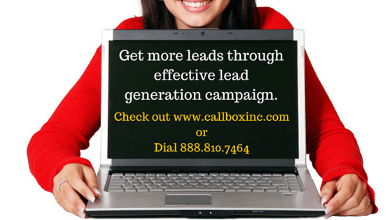 We can help you run your lead generation campaign