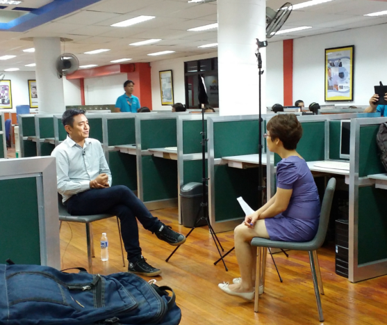 Callbox at Money Mind Show in Channel News Asia