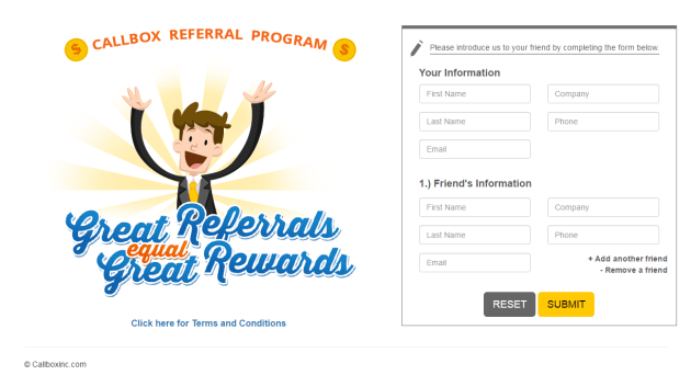 Callbox Referral Program