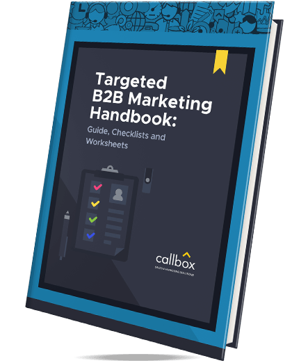 Targeted B2B Marketing Handbook: Guide, Checklists and Worksheets eBook Cover