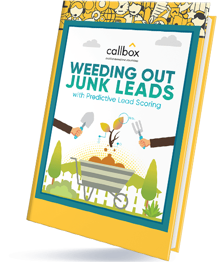 Weeding Out Junk Leads With Predictive Lead Scoring eBook Cover