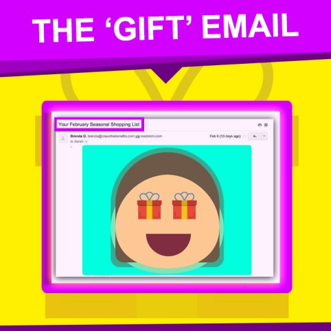 The Gift Email