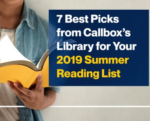 7 Best Picks from Callbox's Library for Your 2019 Summer Reading List - Featured Image