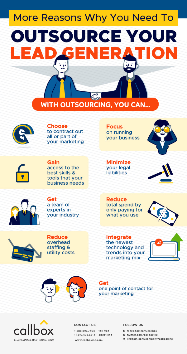 More Reasons Why You Need to Outsource your Lead Generation