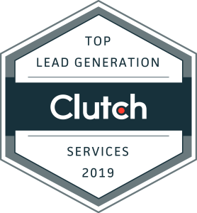 Top B2B Lead Generation Services Company Clutch Badge