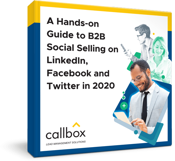 A Hands-On Guide to Gaining B2B Leads from Social Media eBook Cover