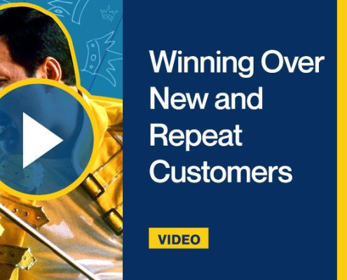Winning Over New and Repeat Customers