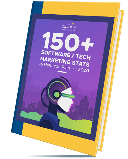 150+ Software / Tech Marketing Stats to Help You Plan eBook Cover