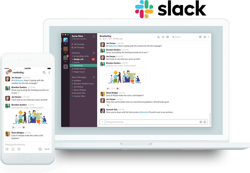 callbridge online meeting system integration with slack
