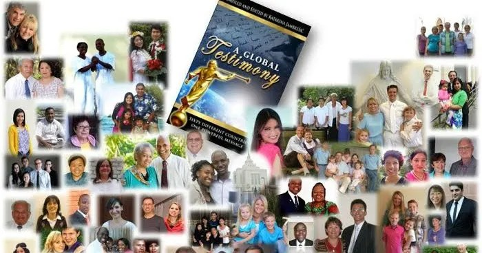 """60 CONVERSION STORIES FROM 60 NATIONS DOCUMENTED IN """"A GLOBAL TESTIMONY"""""""