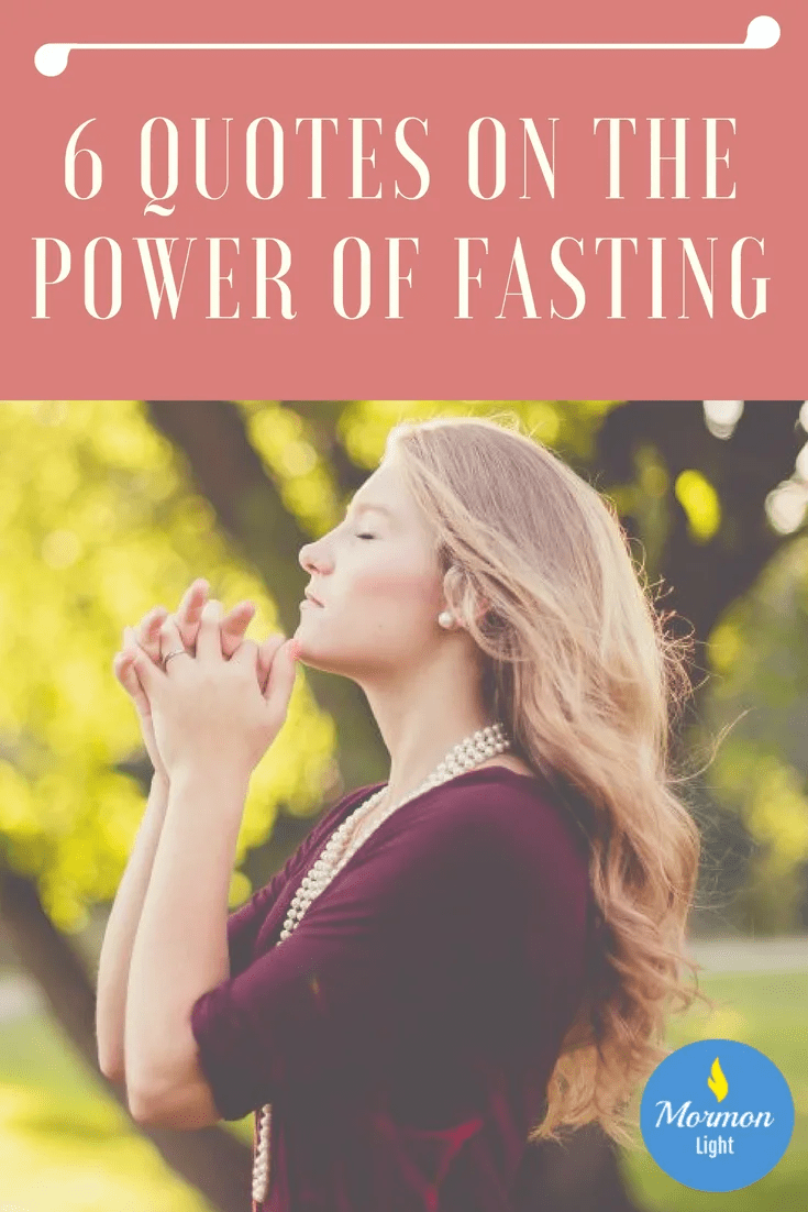 the power and blessings of the fast