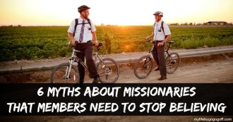 """""""Good missionaries baptize"""" or """"Sisters are better than Elders"""" there are a lot of myths about missionaries, here are 6 myths members need to stop believing"""