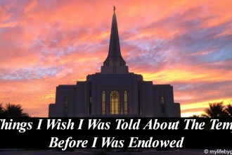 4 Things I Wish I Was Told About The Temple Before I Was Endowed