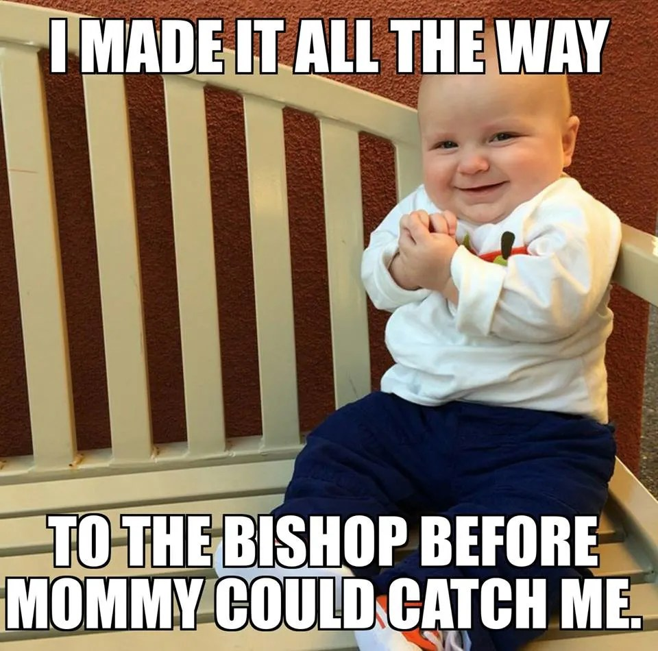 Funny mormon memes credit lds smile