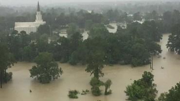 texas temple flooding