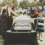 Outpouring of Emotion as Evie Clair and Her Sister Kirra Sing at Father's Funeral