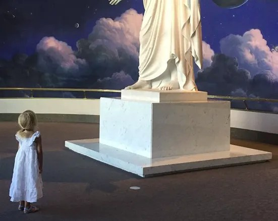This Picture of the Christus Will Put Everything into Perspective