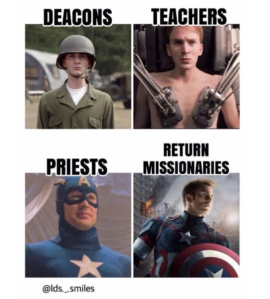 16 Memes That Sum Up Life as a Deacon in the LDS Church #mormonmemes #meme #funnymeme #ldsmemes
