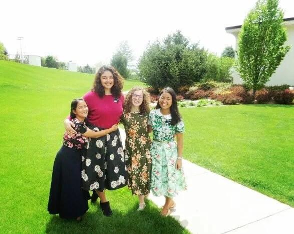 tall sister missionaries