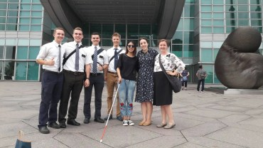 hidden camera mormon missionaries blind woman