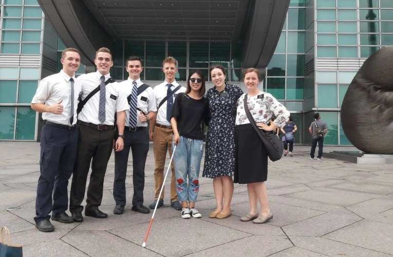 Latter-day Saint Missionaries Caught On Hidden Camera Helping Blind Woman in Taiwan