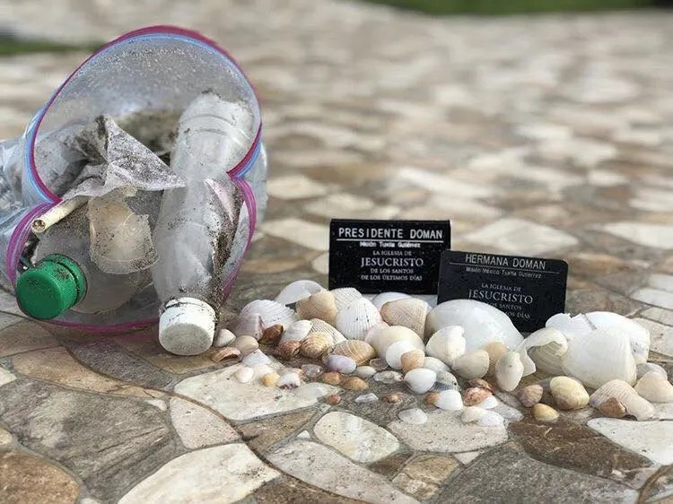 seashells and garbage karma in the book of mormon