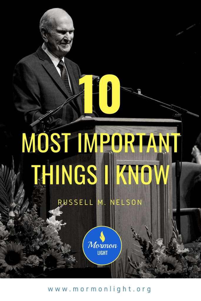 The 10 Most Important Things I Know