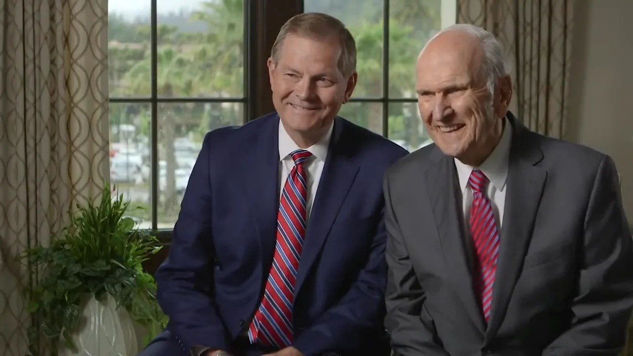 think the church has been fully restored president nelson