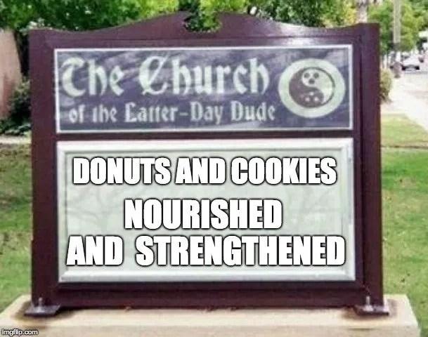 church signs mormon