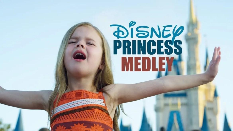disney princess medley claire ryann
