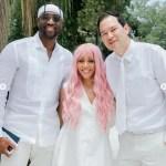 Future NBA Hall of Famer Dwyane Wade Gives Closing Prayer at Baptismal Service