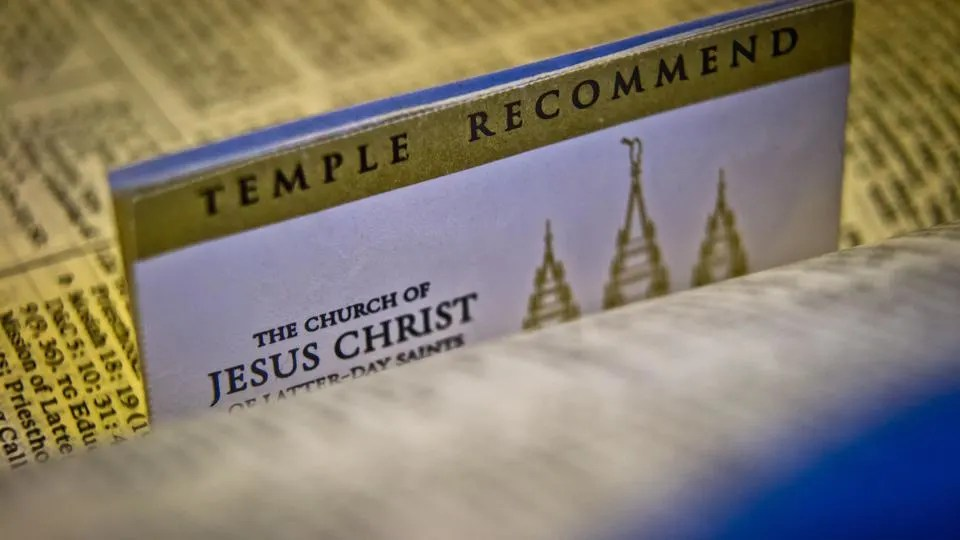 Temple Recommend questions