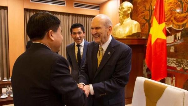 prophet visit to Vietnam
