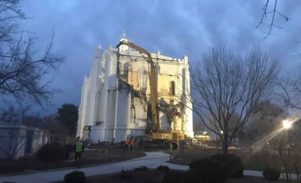 st. george temple demolition
