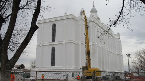 st. george temple renovation