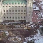 Time-Lapse Video of Salt Lake Temple Renovation Project