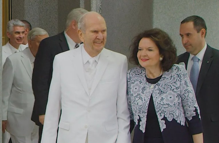 """President Nelson Reflected on Past Prophets When Considering Temple Closures Saying """"I'm Going to Meet Them Soon"""""""