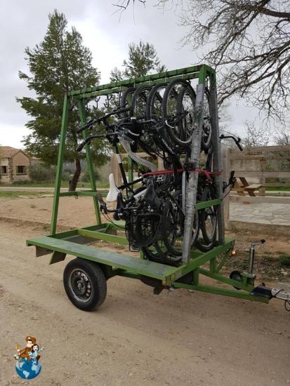 Alquiler de bicicletas con la empresa Esgambi - Horta de Sant Joan