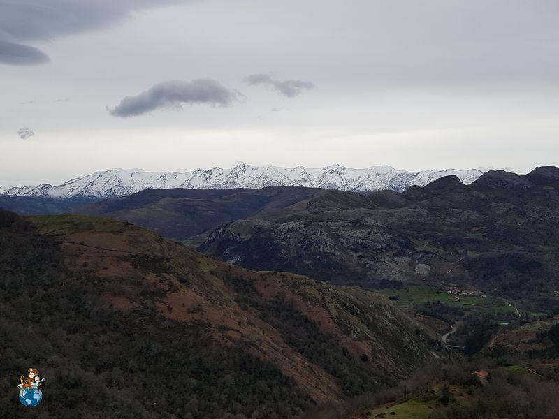Vistas desde la Cueva del Soplao